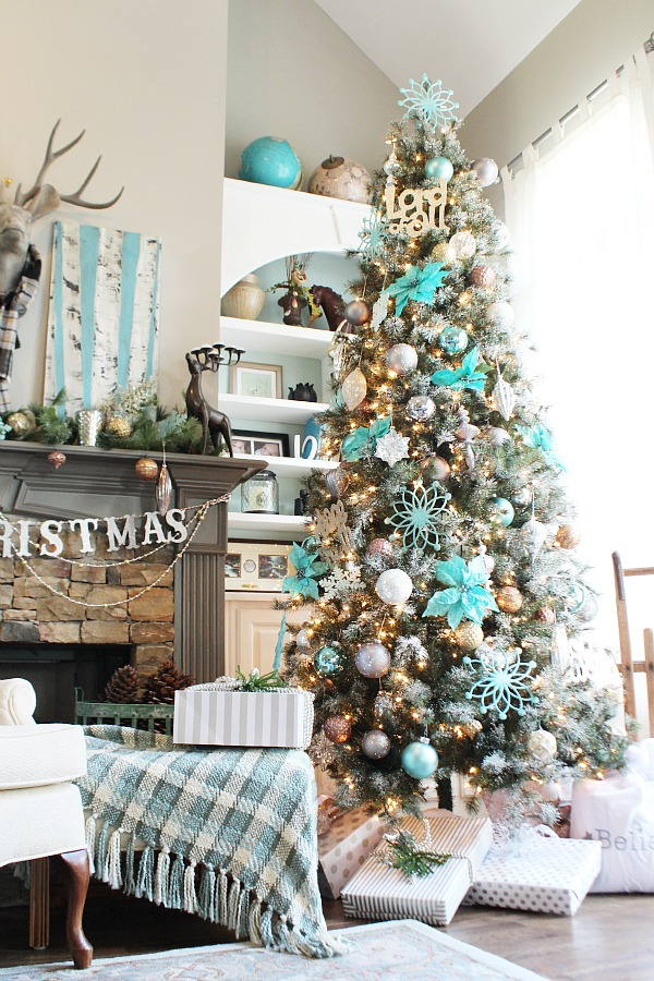 23 most beautiful christmas tree ideas - Beautiful Christmas Tree Decorations