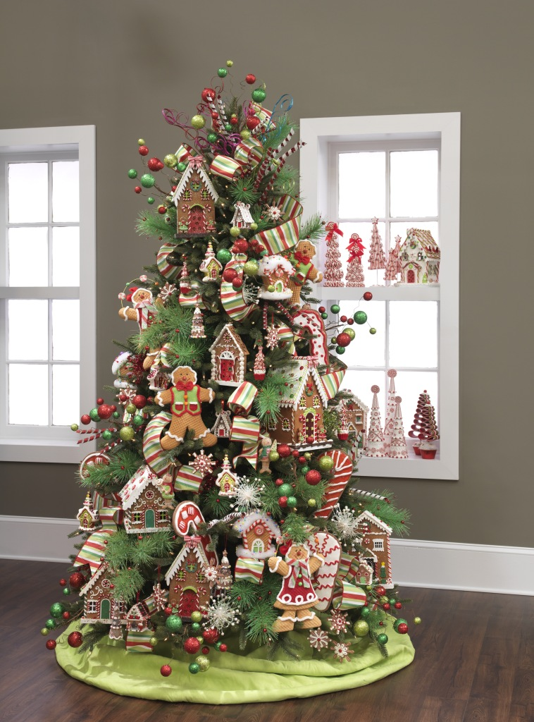23 most beautiful christmas tree ideas - Gingerbread Christmas Decorations Beautiful To Look