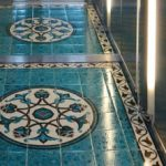 16 Classy Home Decoration- Tile Arts With Eastern Motifs