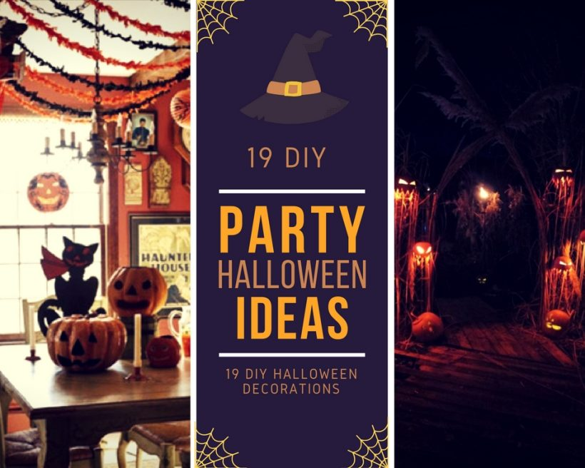 21 Diy Halloween Decoration Ideas