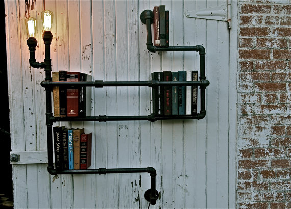 15 Diy Wall Library Ideas