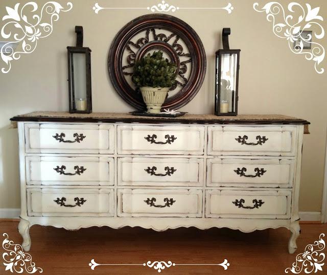 12 Diy Ideas- Antique Your Furnitures